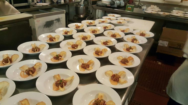 Catering at PLP